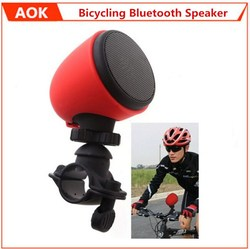 Portable Rechargeable Bluetooth 3.0 Bike Speakers Cycling Speaker Wiht Microphone and Mount for iPhone 6 5S 4S Samsung Galaxy