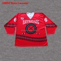Full sublimated dye hockey jersey