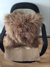 Factory directly wholesale price sheepskin fur pillow cover/fur pillow cases