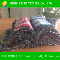 100cotton yarn dyed flannel fabric reactive printed and pigment printed check flannel fabric for shirt