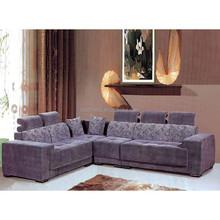 2015 latest modern fabric recliner sofa / camelback sofa