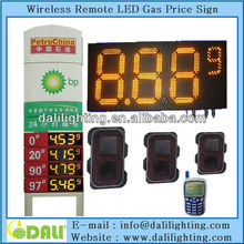 Maintenance Free Wireless led gas station numbers display