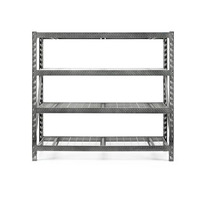 China Drawer Type Mold Rack Storage Double Side Cantilever Rack Drive Through Steel Pallet Shelf with two arm