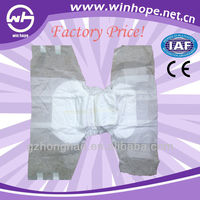 High absorbency with factory price!!adult plastic pants diapers