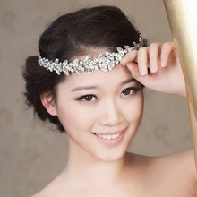 The bride set auger forehead circlets married crown wedding jewelry