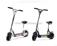foldable two wheel electric scooter folding electric scooter with seat for adult , mini electric scooter with CE