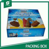 CUSTOM PACKING CORRUGATED BOX FOR ICE CREAM