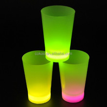 led cup flashing shot glasses led cup mat Factory supply led cup with different design for promotion gifts