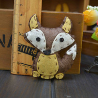 New Style Lovely Animal Fox Brooch For Kids,Decorative Corsage For Children Clothing