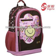 2012 Fashion 600D Cheaper Bags School With Girls