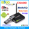 Hot sales google android 5.1 smart tv box RK3368 smart tv tuner box