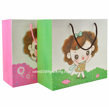 luxury recyclable gift paper bag/custom paper bag/printed paper bag supplier