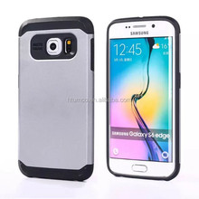 Kubalt Modern Style Double Layer Case, tpu case, phone case for Samsung Galaxy S6 Edge - (Multiple colors)