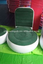 Popular round inflatable chair sofa relax outdoor and living room