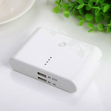 Manufacturer wholesale DUAL USB 2.1A power bank battery case for iphone 10000mah battery power bank for iPhone ipad