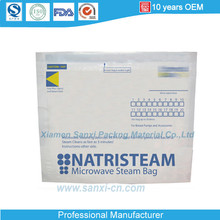 Microwave Steam Bag With Zipper