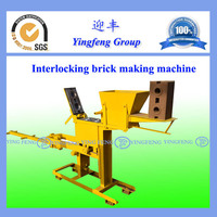YF1-40 Hydraulic brick press machine you can import from China