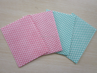 Non-woven cleaning wipes/absorbent wipe cloth/fish scale J cloth