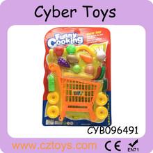 حار بيع ديي البسيطة بقالة عربة التسوق بالفواكه والخضروات للأطفال للبيع