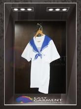 Customised Promotional Plain O Neck Ringspun Short Sleeves white female Tshirt
