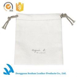 2015 High quality soft fabric custom ladies jewelry bag