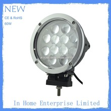 LED off road work lights for trucks, 60w LEDs led work lights for trucks