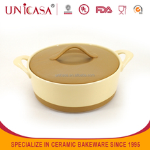 UNICASA New Design Ceramic Casserole Hot Pot
