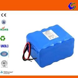 24v 25.6v 10ah 8s 26650 lithium ion li-ion lfp battery pack