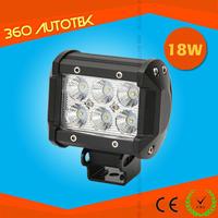 18W Led Work Light Ip68 Auto led alloy work light bar flood spot For Offroad,Tractor,Truck,Utv,Atv