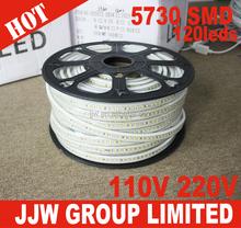 led strip manufacturer led strip stripe 5630 110v 120v 120leds/m warm white