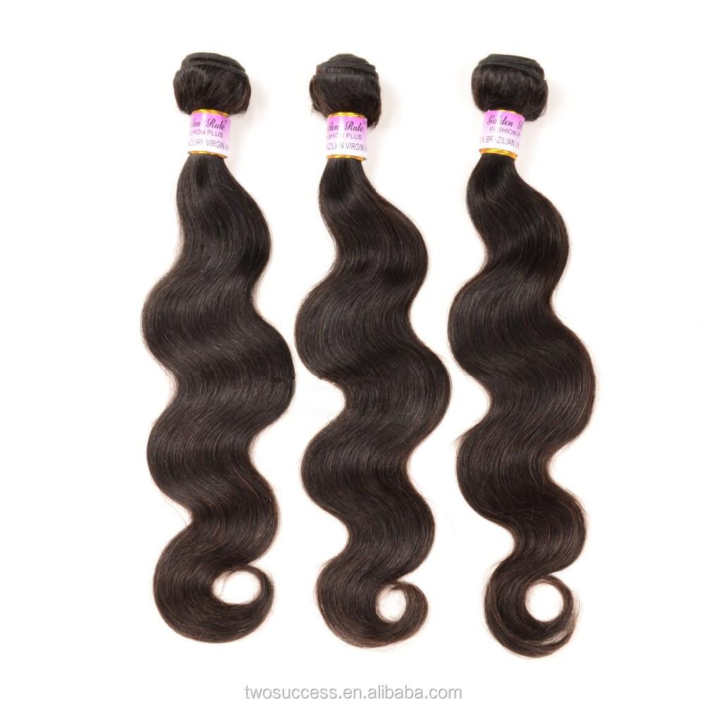 Shipping virgin indian remy body wave 100% humain hair .jpg