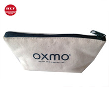 China Manufacturer OEM Service Natural Small Plain Canvas Clutch Bag