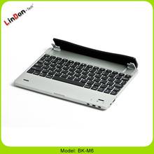 LinDon 4000mah high battery capacity bluetooth wireless keyboard for iPad 2/3/4 BK-M6