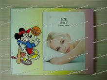 Wholesale 4x6 crystal glass photo frame for family