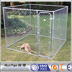 Wholesale cheap portable chain link dog kennel lowes/portable fences for dogs (factory price)