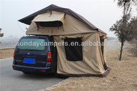 Big Roof Top Tent with change room (220x310cm) for 5 person