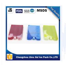 FOOD GRADE HDPE material gel ice pack bottle cooler,plastic ice pack manufacturer
