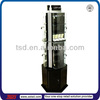 TSD-A1122 acrylic lockable display cabinet for jewelry,floor stand 3 side rotating jewelry display stand