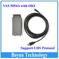 2015 el más nuevo del vaso 5054A con OKI VAS5054A ODIS V2.0 protocolo UDS soporte Bluetooth VAS 5054A con el plástico Carry Case