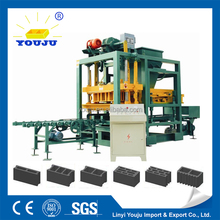 cement hollow block machine for malaysia qt4-24