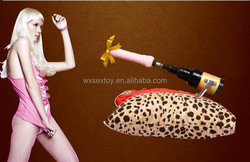 Automatic Electric Telescopic Gun/Cannon Female Masturbation Machine With Dildo