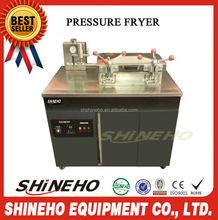 Cozinha pressão fryer / batata frita que faz a máquina preço / fritadeira industrial