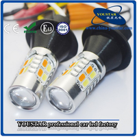 7440 5630 Switchback LED Bulb For Front Turn Signal Light/ DRL, Led DRL Turn Signal Light