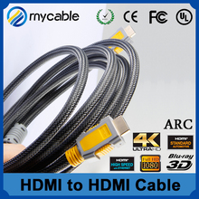 19p hdmi to hdmi cable 1.4 support 4k, 1080p, audio return for ps4, xbox one 1m 1.5m 1.8m 2m