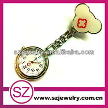 Custom alloy nursing pocket fob watch waterproof watches for nurses