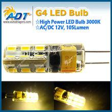 2014 Newest 3000K LED Bulb 24pcs AC/DC 12V Home Led lamp