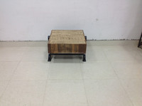 Recycled wooden coffee table