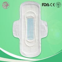 Ultra thin soft and clean unscented pads sanitary napkin manufacture