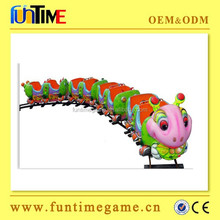 Funtime product track train Baby train amusement park rides Kiddie Ride Outdoor Playground Track Train
