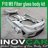 F10 H style fiber glass side skirt, car bodykits for Bmw F10 H style Tuning car